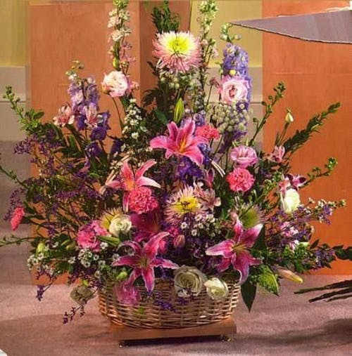 Bright Jewel Basket